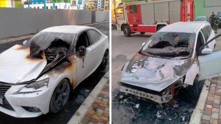 В Воронеже задержали спалившего две иномарки «чёрного мстителя»