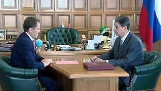 Воронеж с рабочим визитом посетил министр культуры Александр Авдеев