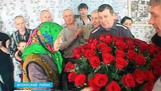 В селе Николаевка Воронежской области отмечает 85 юбилей Мать-героиня