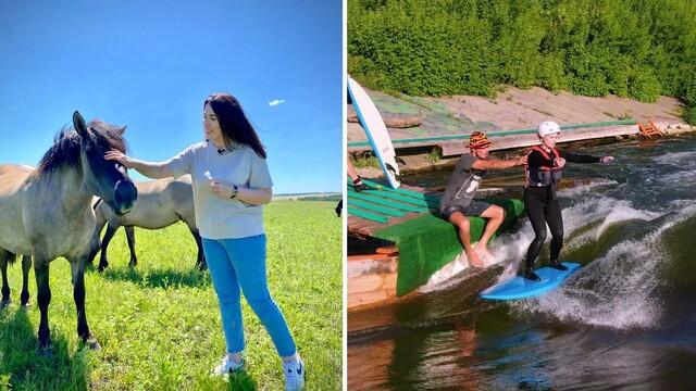 Сёрфинг на Дону vs парк диких оленей. Как необычно отдохнуть в Липецкой области