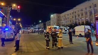 Из-за взрыва автобуса в центре Воронежа СК возбудил уголовное дело