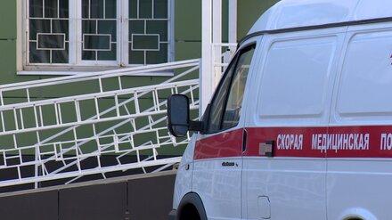 В центре Воронежа пассажирский автобус сбил женщину на переходе