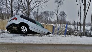 В Воронежской области погиб водитель опрокинувшейся в кювет машины