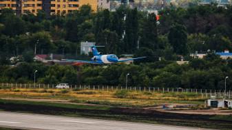 Новую взлётно-посадочную полосу воронежского авиазавода испытают с воздуха