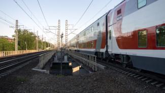 Через Воронежскую область запустили двухэтажный поезд в Анапу