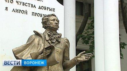 Воронежские власти нашли подрядчика для ремонта памятника Пушкину