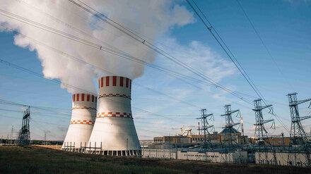 Нововоронежская АЭС в 2020 году перевыполнит план по выработке электроэнергии на 2,1%