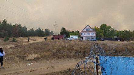 Воронежские энергетики помогли спасателям потушить мощнейший лесной пожар