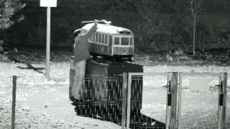 Обломавший «рога» воронежскому трамваю вандал попал под камеры