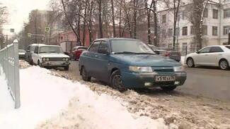 Мэра Воронежа попросили сделать платные парковки бесплатными на время снегопадов