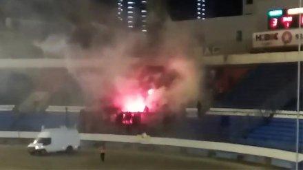 Воронежский «Факел» оштрафовали за устроенные болельщиками беспорядки на матче с «Авангардом»