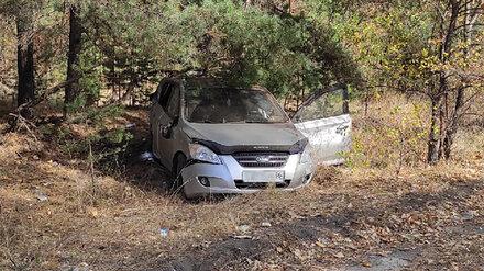 В Воронеже иномарка влетела в дерево: пострадал водитель