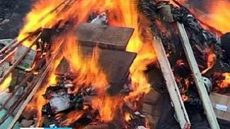 В Воронеже уничтожили более 100 килограммов наркотиков