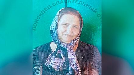 Под Воронежем пропала нуждающаяся в медпомощи бабушка