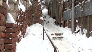 Старинные и опасные. Воронежцы поборются за 1 млн рублей на ремонт пешеходных лестниц