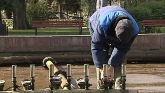 Высохли фонтаны… Их «консервирует» на зиму целая бригада специалистов