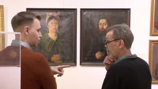 В Воронеж привезли портреты жителей старинного купеческого города