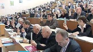 В Воронежском архитектурно-строительном университете выбирали ректора