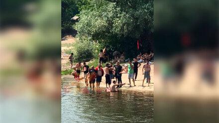 В реке у самого популярного воронежского пляжа утонул отдыхающий