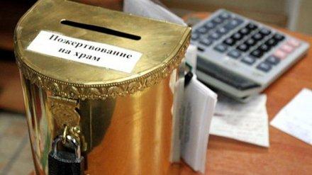 В Воронеже безработный взломщик украл из храма пожертвования
