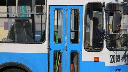 В Воронеже до конца года остановили два троллейбусных маршрута