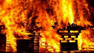 Под Воронежем в сгоревшей дотла времянке нашли тело пенсионерки