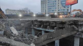 Мэрия показала видео уничтожения виадука у «Работницы» в Воронеже