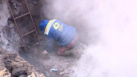 В Воронеже устранили аварию, оставившую в сильный мороз без тепла тысячи горожан
