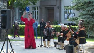 Сезон уличных концертов в Воронеже откроет оркестр народных инструментов
