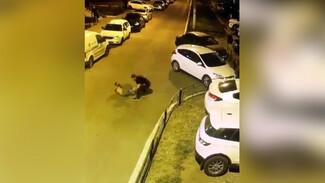 Воронежцы показали видео устроенной после дорожного конфликта поножовщины