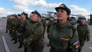 Девушки-военные во второй раз поучаствуют в параде Победы в Воронеже