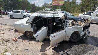 Пассажирка ВАЗа погибла в ДТП с внедорожником в Воронежской области