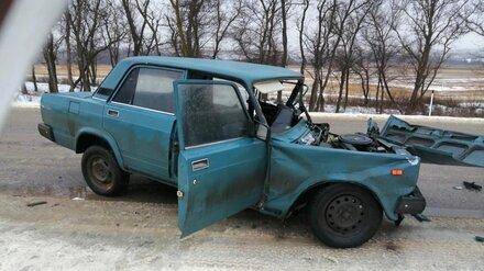 На воронежской трассе в лобовом ДТП погиб 36-летний водитель