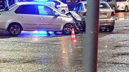 Таксист совершил ДТП в центре Воронежа: пострадала пенсионерка