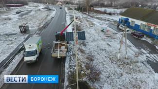 Масштабное обновление пешеходных переходов в Воронежской области завершат к концу декабря