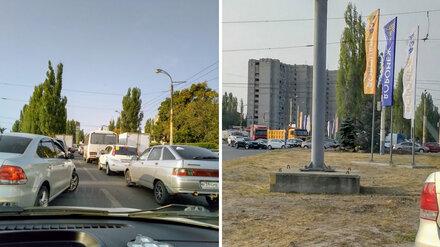 Воронеж сковали 8-балльные пробки