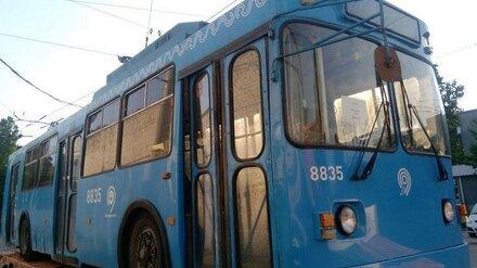 В Воронеже вновь приостановили работу половины троллейбусных маршрутов