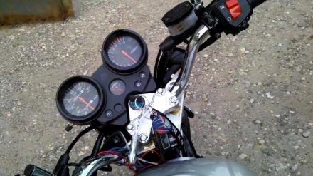 В Воронежской области машина сбила ехавших на мотоцикле школьников