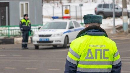 Инспектор ДПС сбил пьяного водителя мопеда в Воронежской области