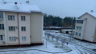 В Воронеже выпал первый снег
