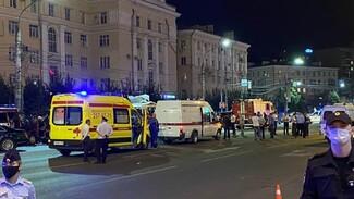 Число пострадавших после взрыва маршрутки в Воронеже возросло до 22