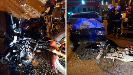 В Воронеже 15-летний подросток на «Жигулях» раздавил мотоциклиста