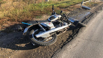 В Воронежской области в ДТП пострадал 12-летний мотоциклист