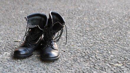 В ботинке умершего в Майкопе воронежского солдата нашли предсмертную записку