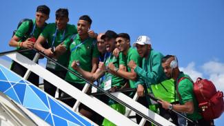 Базирующаяся в Воронеже марокканская сборная отправилась на следующий матч
