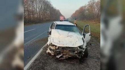 Под Воронежем в страшной аварии 1 человек погиб и 3 пострадали