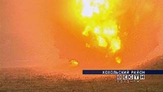 В Хохольском районе уничтожили найденные боеприпасы