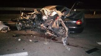 В Воронежской области погиб выехавший на встречку водитель