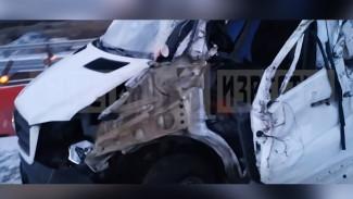Появилось видео с места смертельного ДТП с микроавтобусом на воронежской трассе