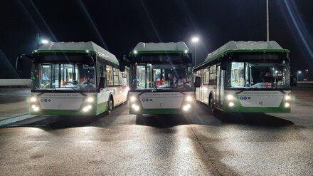 Жителей воронежского микрорайона обеспечат низкопольными автобусами